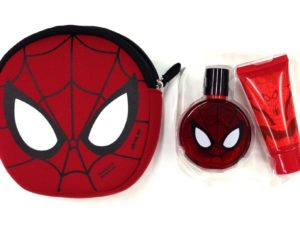 Spiderman Metalic Set= soap