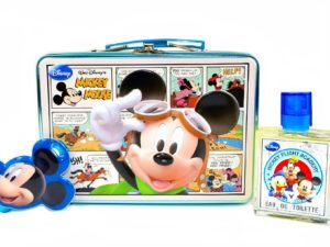 Disney Mickey Mouse Gift Set + Luggage Tag + Travel Case