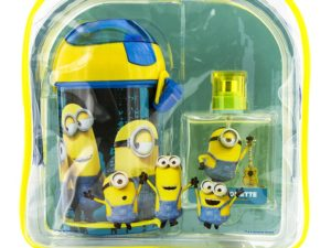 Minions 1.7+ waterbottle+bag