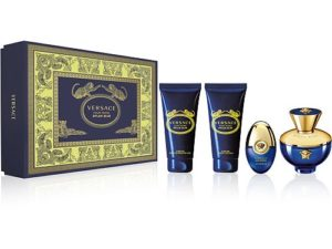 Dylan Blue 4 Pc Gift Set by Gianni Versace
