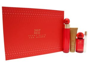 360 Red 4 Pc Gift Set by Perry Ellis