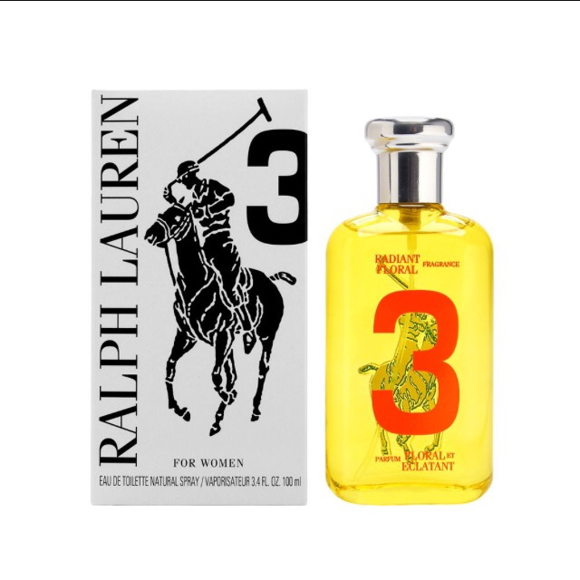 Polo Big Pony # 3 by Ralph Lauren (Tester)