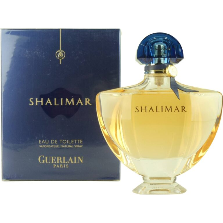 Shalimar by Guerlain (Old Packaging)