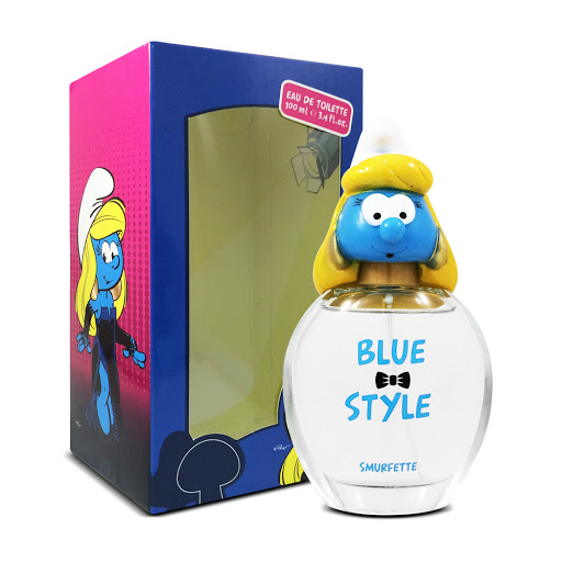 The Blue Style Smurfette